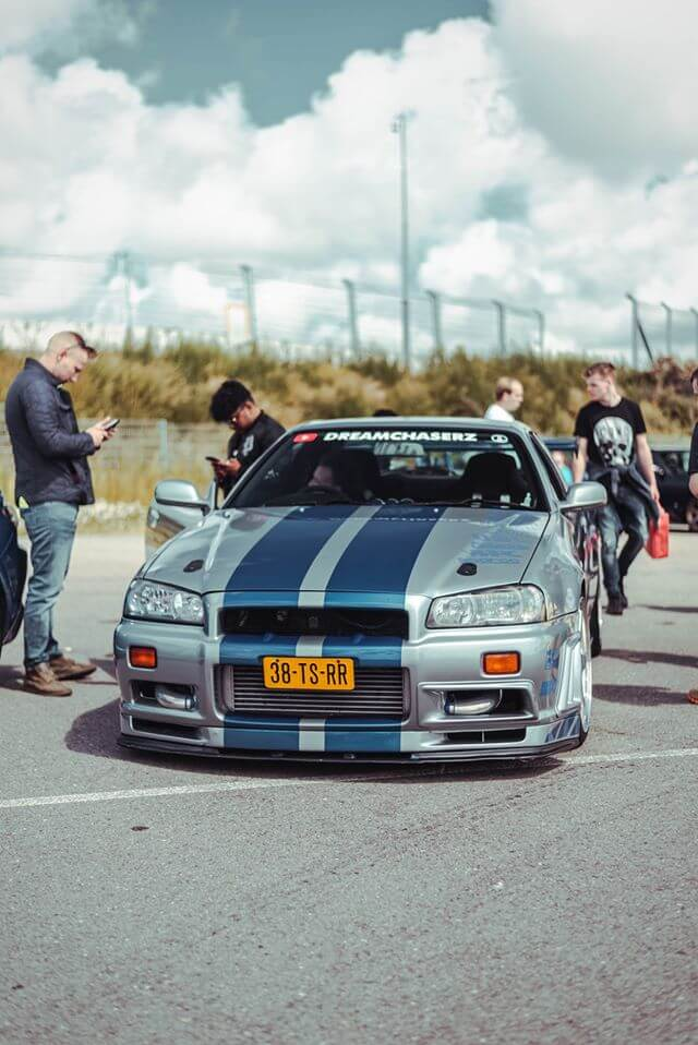 38-TS-RR: NISSAN SKYLINE GT-T uit 1998